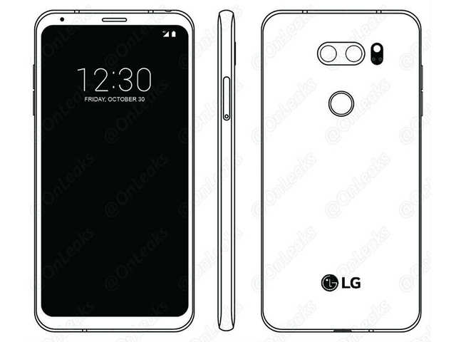LG V30 design leaked ahead of August 31 launch
