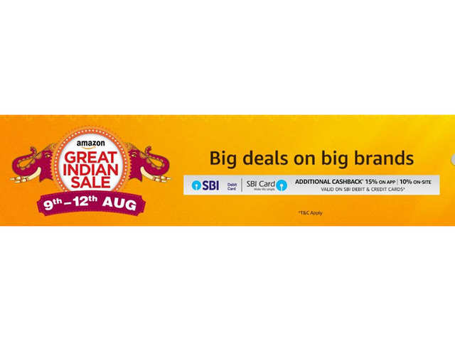 Amazon to hold Great India Sale on August 9 to 12th