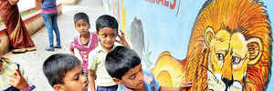 VISUALS SPARK AN EDUCATION FOR KIDS AT THIS CITY SCHOOL