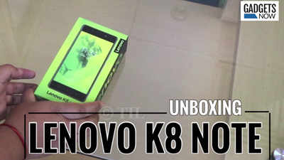 Lenovo K8 Note smartphone with dual rear cameras launched starting at Rs 12,999