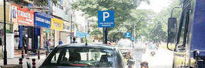 Illegal parking fixed on Aundh DP Rd