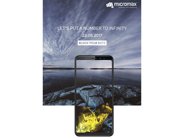 Micromax to launch smartphone with infinity display on August 22