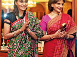 Suneeta Reddy and Preetha Reddy