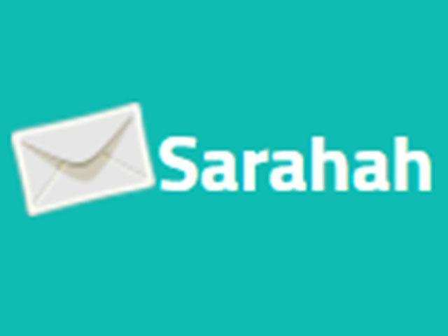 The Sarahah app allows users to send text messages to anyone, without revealing the identity of the sender.