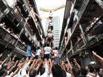 Dahi Handi celebrations: High scale human pyramids