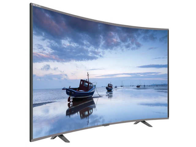 The Mitashi Curved Smart TV comes with two screen sizes of 32-inch and 39-inch.