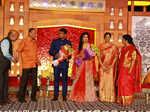 Sahari and Raches Veerendra Dev's wedding ceremony