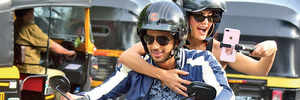 Riding in the fast lane with Sidharth