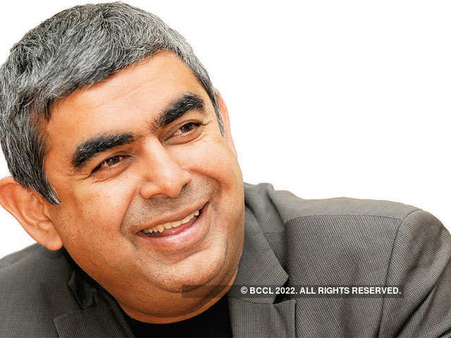 Sikka was the first non-founder to take the reins of the company in August 2014.