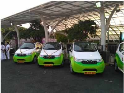 First Charging Station For Electric Vehicles Begins Operations In City