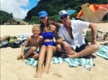 Robin Thicke enjoys vacation with son Julian in Hawaii