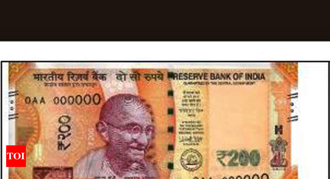 200 rupees note: RBI to issue new Rs 200 note on Friday