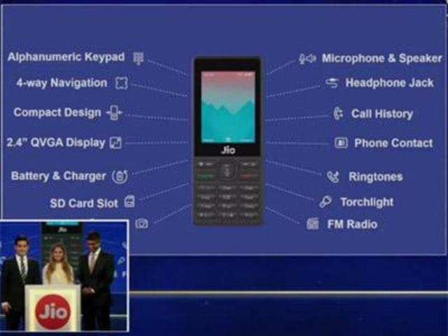Reliance JioPhone: Here's all that you will get inside the