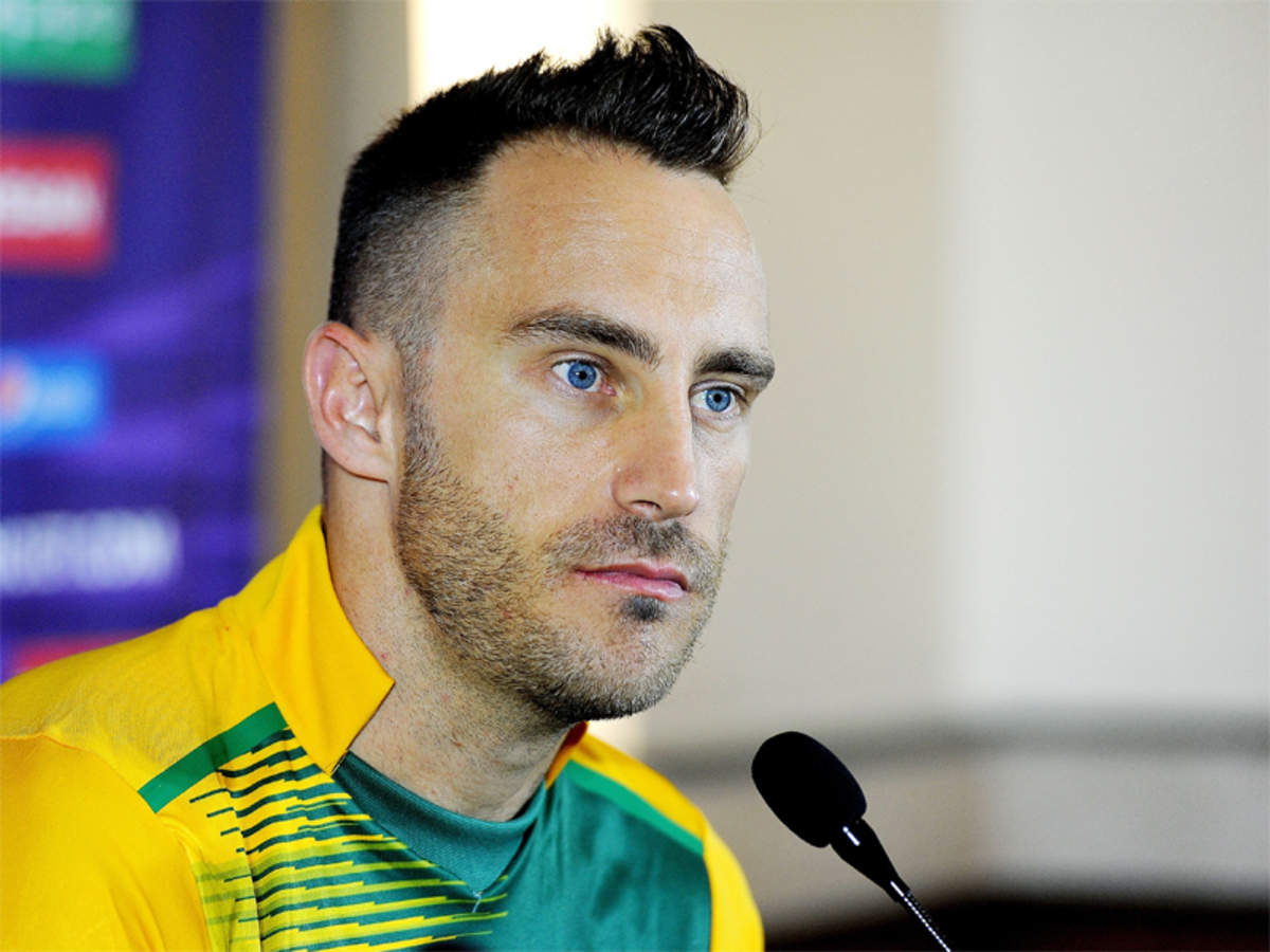 faf du plessis: Faf du Plessis ready for ODI captaincy | Cricket News -  Times of India