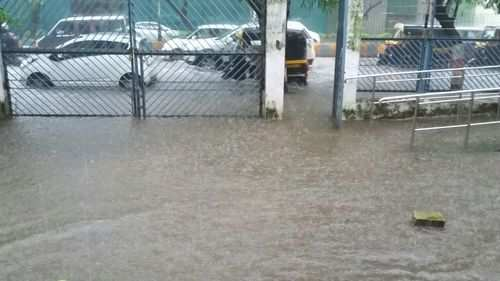 Flood Like Situation At Mumbai S Mulund Station Mumbai Times Of