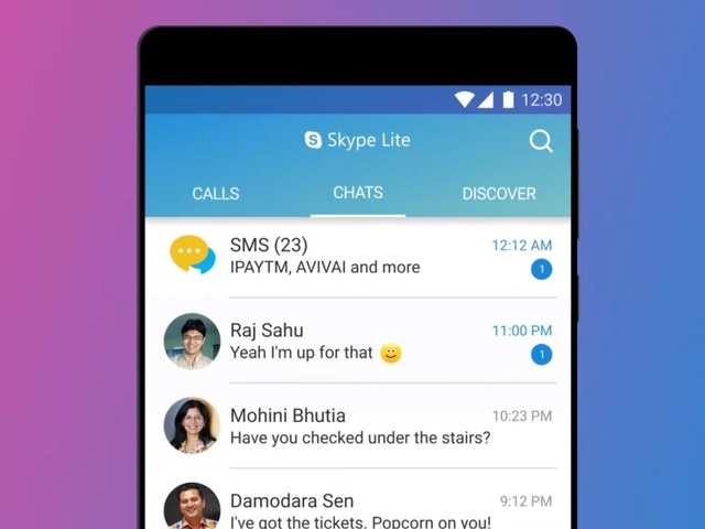 Microsoft's Skype Lite now lets you check SMS texts inside the app