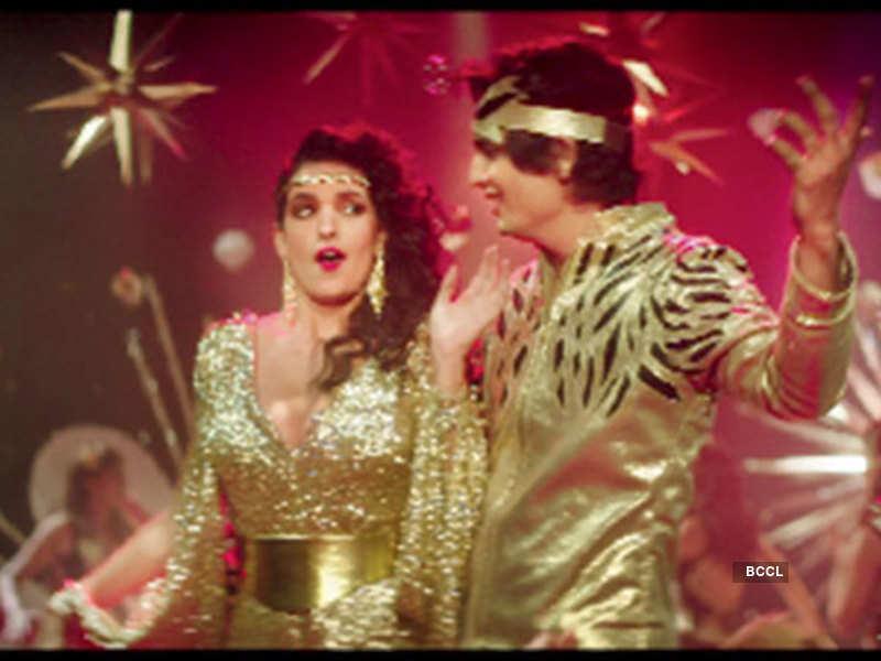 A still from the song 'Zindagi Meri Dance Dance'