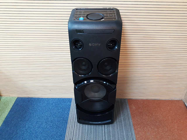 Sony Mhc V50d Home Audio System Review Where Style Meets