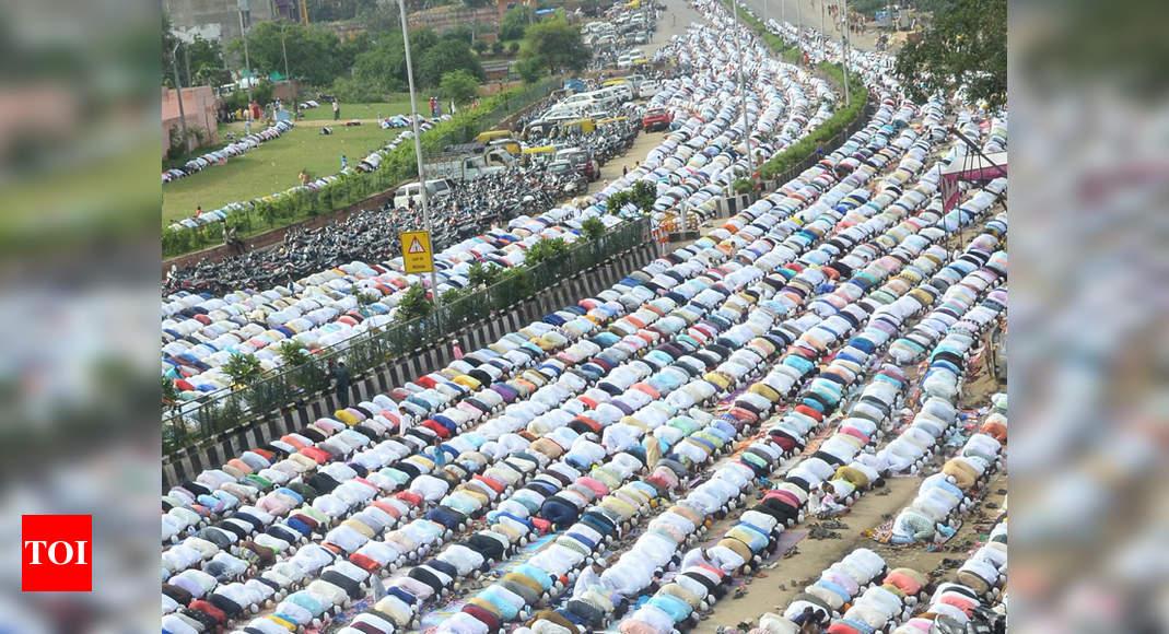 people across rajasthan celebrate eid visit mosques