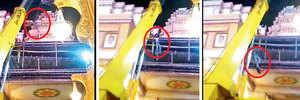 Labourer, 22, falls off Dagdusheth's pandal, in a critical condition