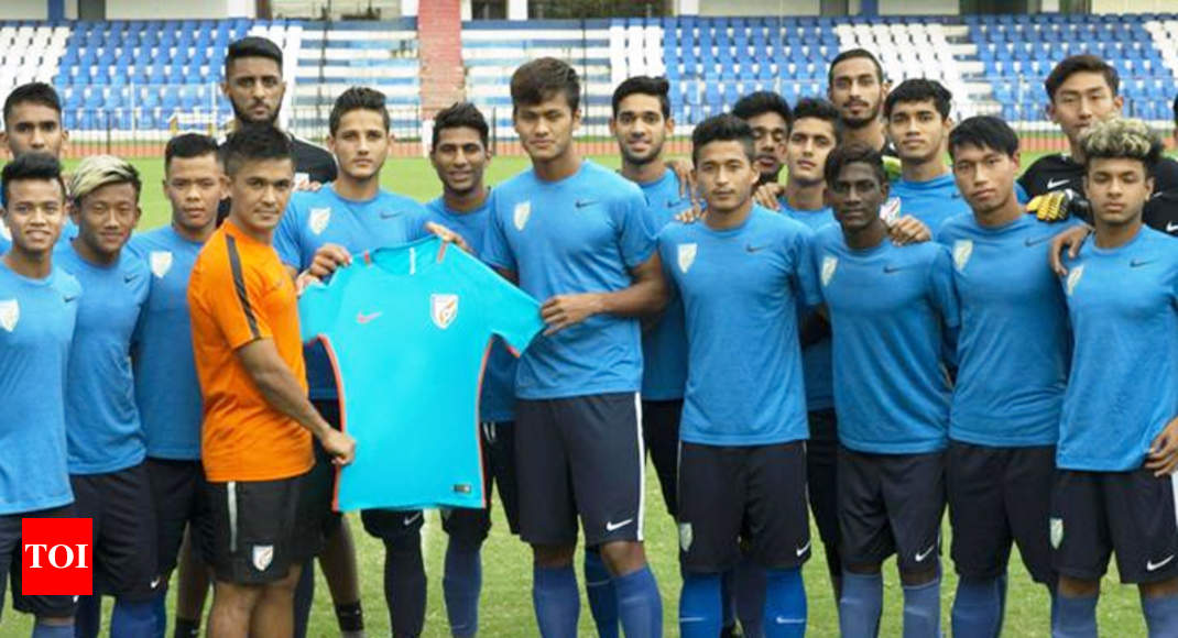 san francisco 27c79 24f35 FIFA U-17 World Cup: U-17 Indian national football team kit ...
