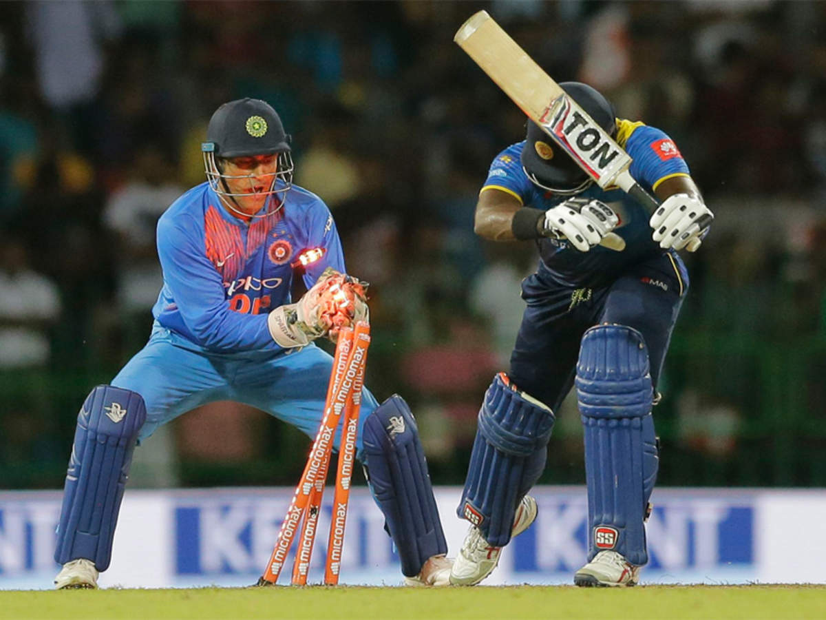 Blink and miss: MS Dhoni astonishes with lightning fast stumping | Cricket News - Times of India