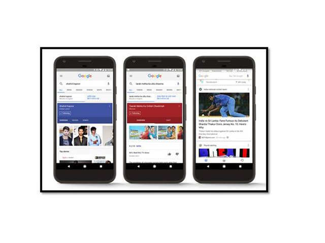 Google starts rolling out new feed to Indian users