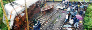 Would you think twice before taking a train journey, given the many recent derailments ?
