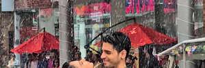 It's raining love for Sidharth Malhotra and Rakul Preet Singh!