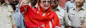 Dilip Kumar disputed bungalow row: Wife Saira Banu gets back keys of disputed property