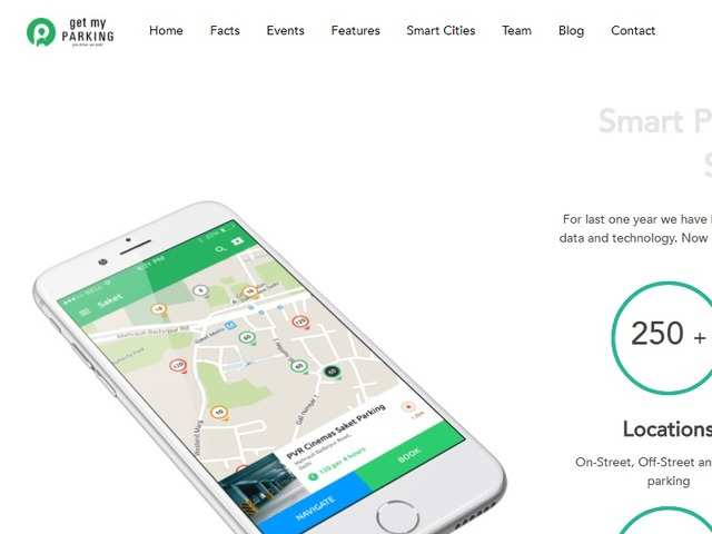 The company's platform digitises parking spaces. Its mobile app gives users a bird's eye view of all the legal parking lots, allowing them to search, book and navigate to the relevant parking spot.