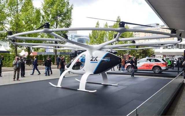 Concept cars show the future in Frankfurt