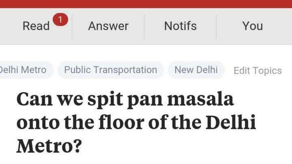 This Is Why Indians Should Be Banned From Asking Questions On Quora The Times Of India