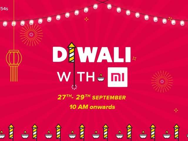 Xiaomi announces Diwali Sales on smartphones and accessories