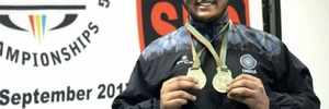 Karnataka athlete, Israr Pasha, who won two gold medals, silver at the Commonwealth Powerlifting Championship, had to pawn mom's jewellery