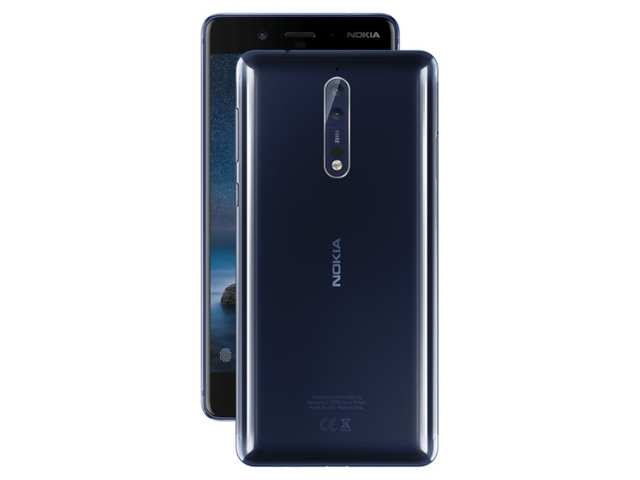 Nokia 8 smartphone with dual rear cameras to launch in India today