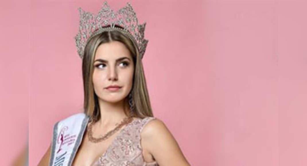 Nikoleta Todorova takes over Miss Universe Bulgaria 2017