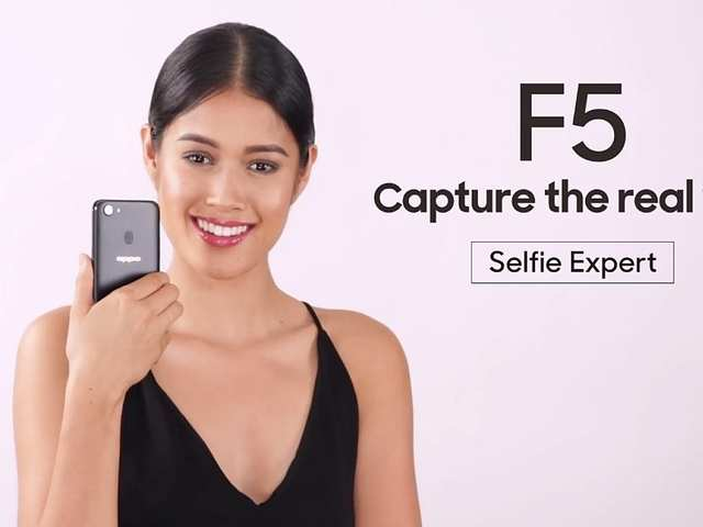 Oppo F5 showcased in video and images