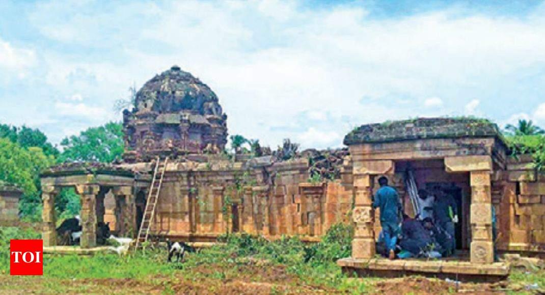 800-year-old Siva temple found in Pudukottai village   Trichy News