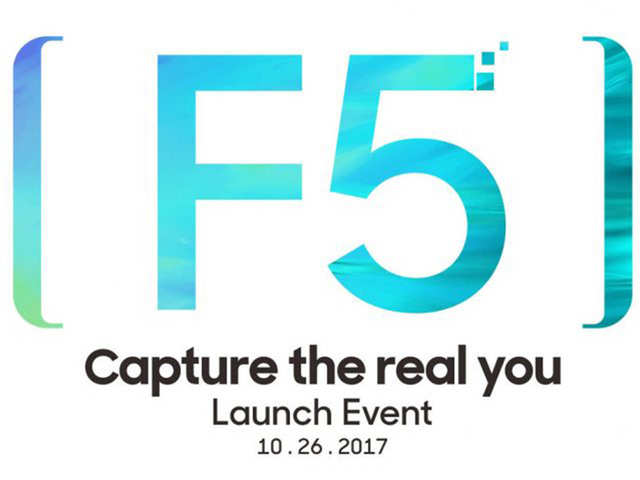Oppo F5 with dual selfie camera, full screen display to launch on October 26