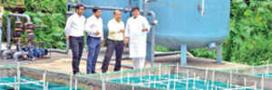 PMC garden gets first grey water treatment plant