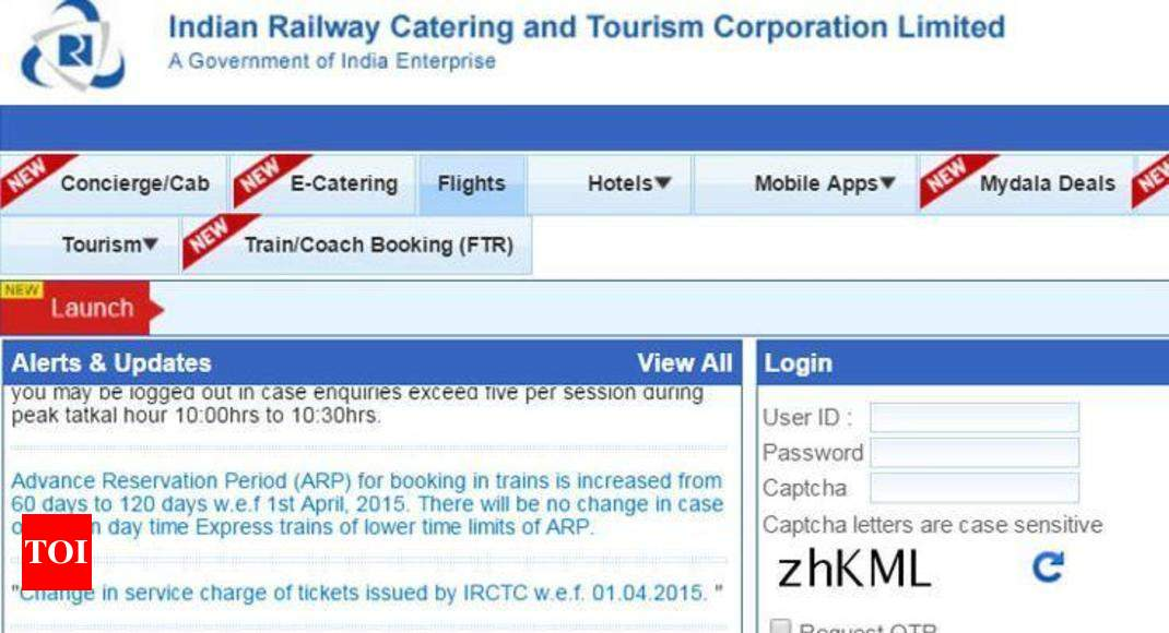 How to file TDR for IRCTC ticket refund - Times of India
