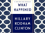 Micro review: 'What Happened' is an aptly titled memoir of the 2016 US elections
