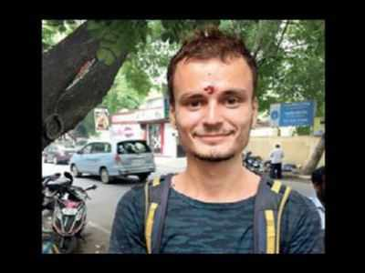 Lord Shiva told me to beg, says Russian tourist   Chennai