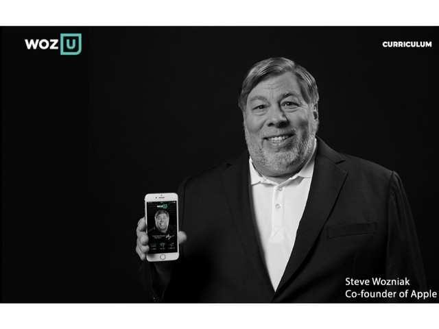 Apple co-founder Steve Wozniak launches online university