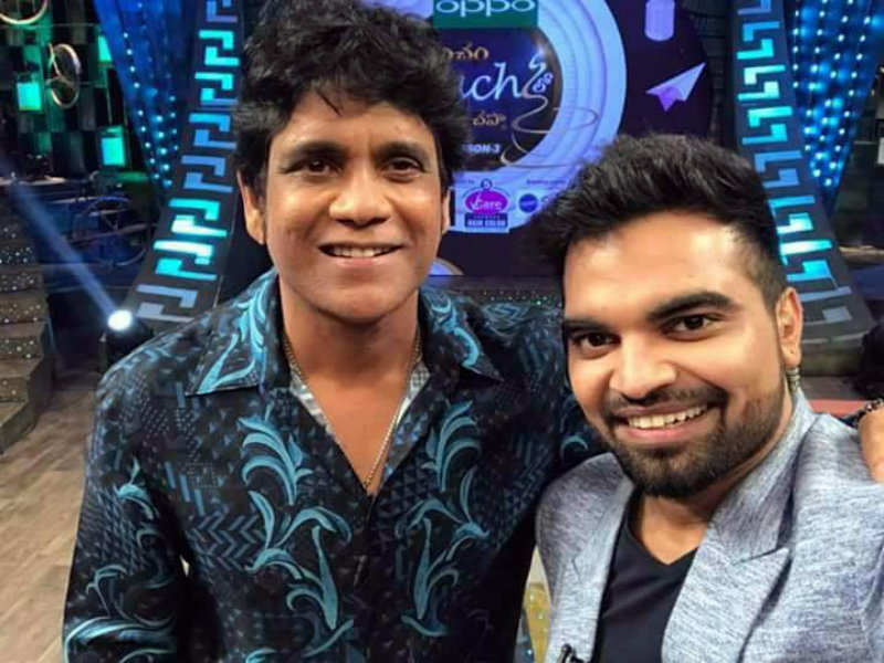 Nagarjuna Is The Guest On Pradeep Machiraju S Koncham Touch Lo Unte Chepta This Sunday Times Of India