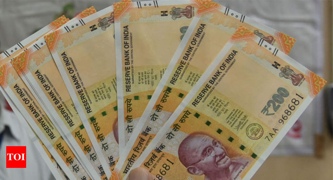 New 200 rupee note: ATMs to dispense new Rs 200 notes only by year