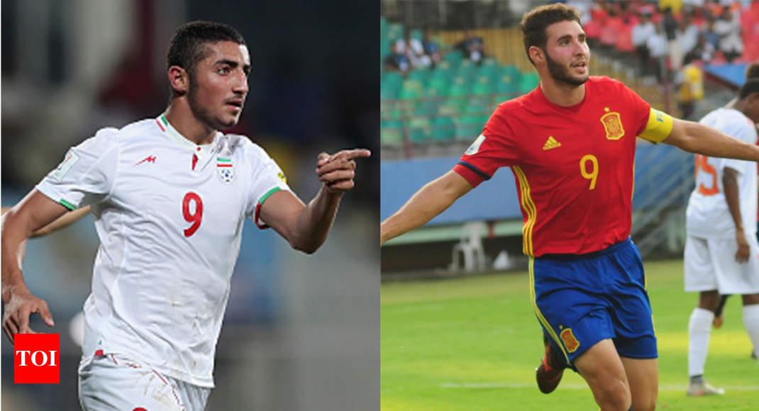 FIFA U-17 World Cup 2017: Spain vs Iran: Battle of No. 9s between Abel Ruiz  and Allahyar Sayyad | Football News - Times of India