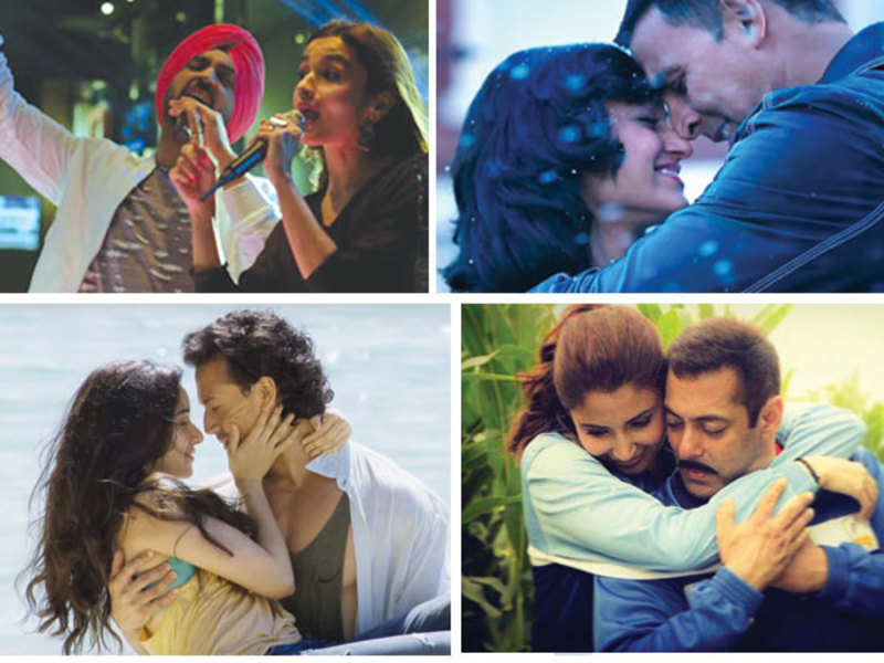 Stills from the songs