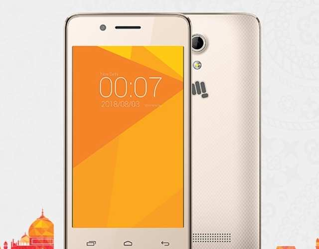 e23af587589 Micromax launches India s  cheapest  4G smartphone  Price